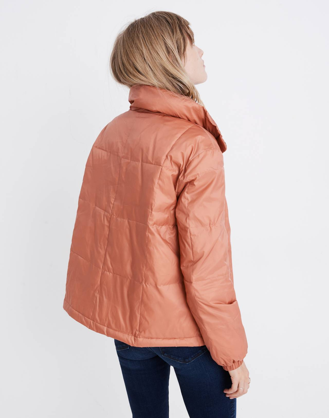 Travel Buddy Packable Puffer Jacket in sweet dahlia image 2