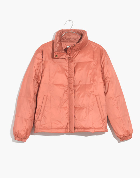 Travel Buddy Packable Puffer Jacket in sweet dahlia image 4
