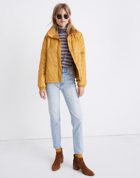 Travel Buddy Packable Puffer Jacket in southern sun image 3