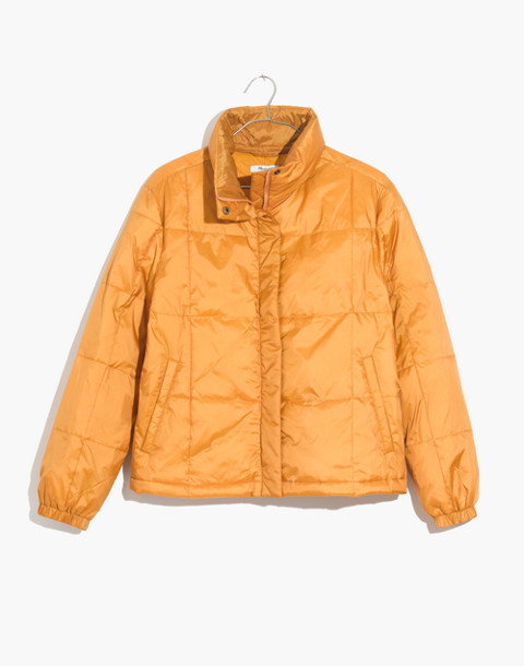 Travel Buddy Packable Puffer Jacket in southern sun image 4