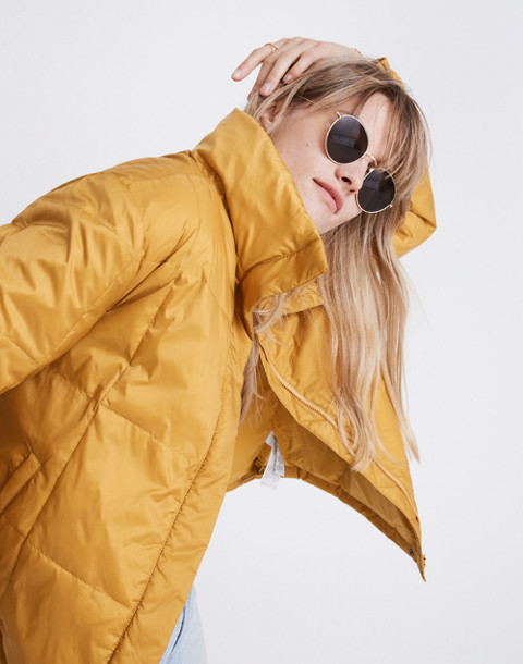 Travel Buddy Packable Puffer Jacket in southern sun image 1