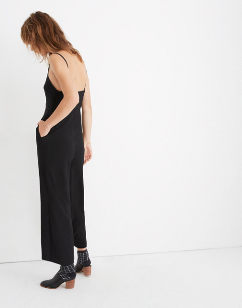 Thistle Cami Jumpsuit in true black image 2