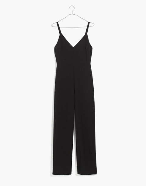 Thistle Cami Jumpsuit in true black image 4