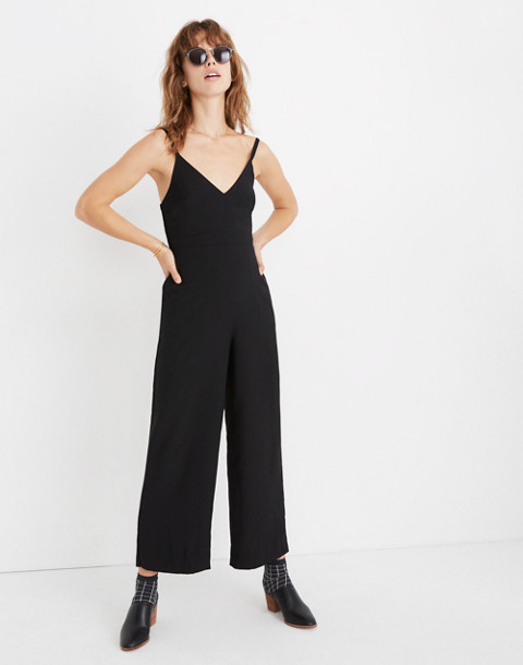 Thistle Cami Jumpsuit in true black image 1