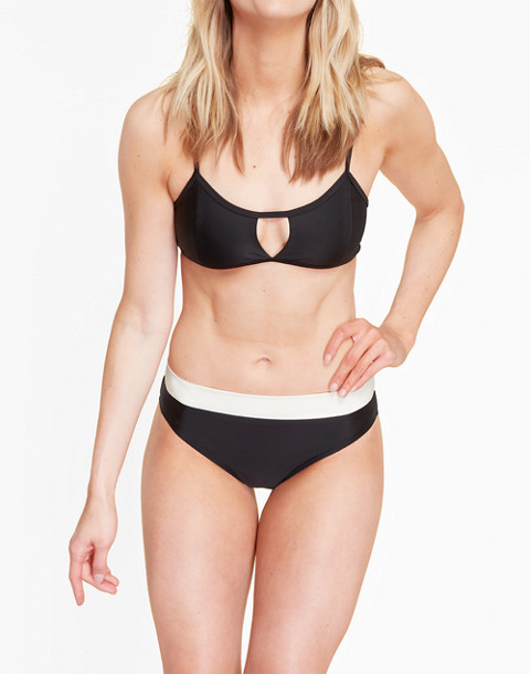 Summersalt® High Dive Bikini Top in black image 3