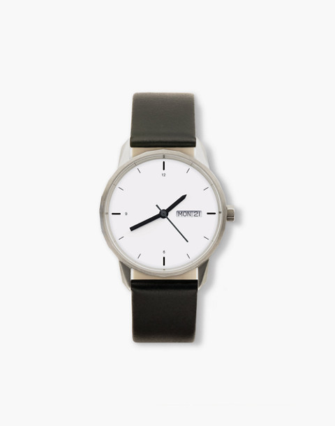 Tinker™ 34mm Silver-Toned Watch in black image 1