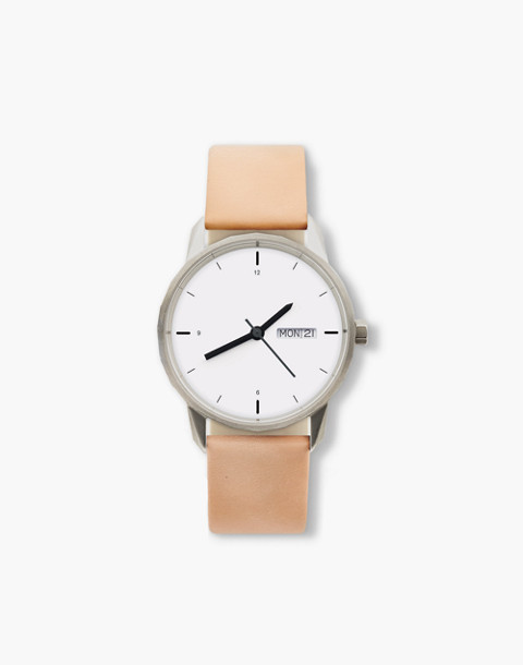 Tinker™ 34mm Silver-Toned Watch in pink image 1