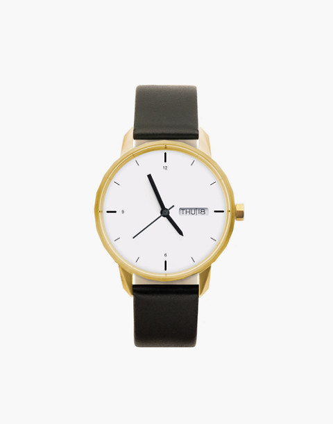 Tinker™ 38mm Gold-Toned Watch in black image 1