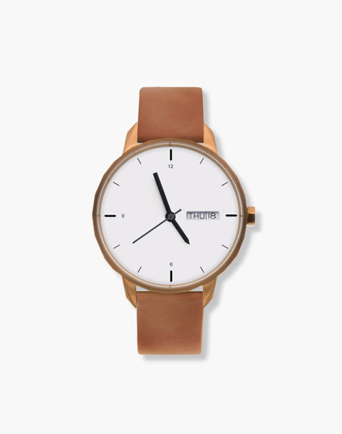 Tinker™ 42mm Copper-Toned Watch in brown image 1