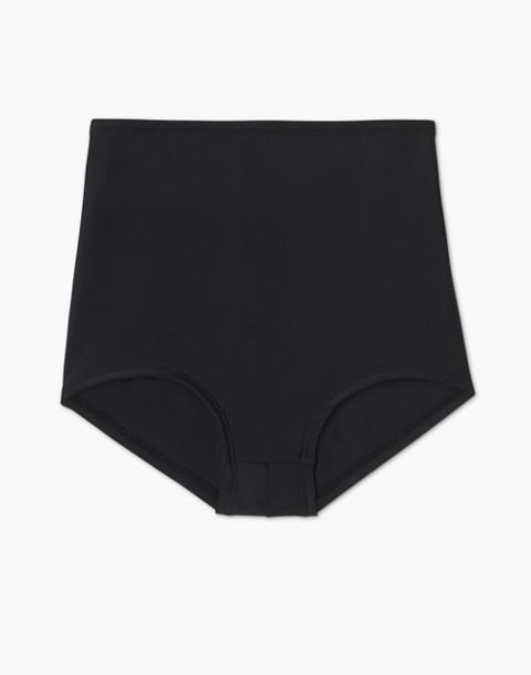 Summersalt® Classic High-Rise Bikini Bottom in black image 4