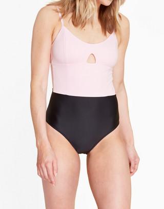 Summersalt® Swan Dive One-Piece Swimsuit