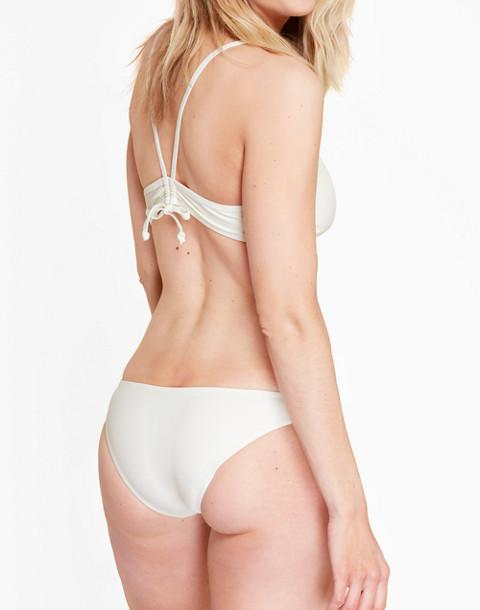 Summersalt® Classic Lowrider Bikini Bottom in white image 2