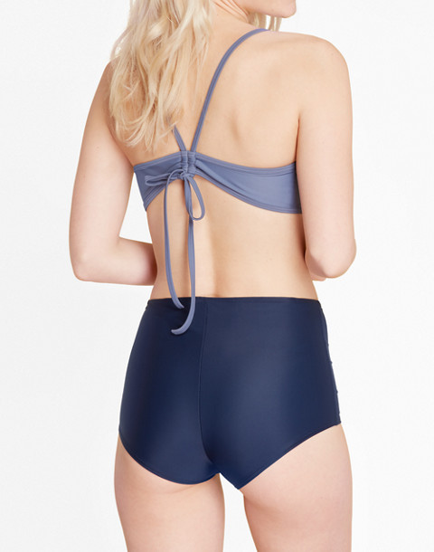 Summersalt® Classic High-Rise Bikini Bottoms in Blue in blue image 3