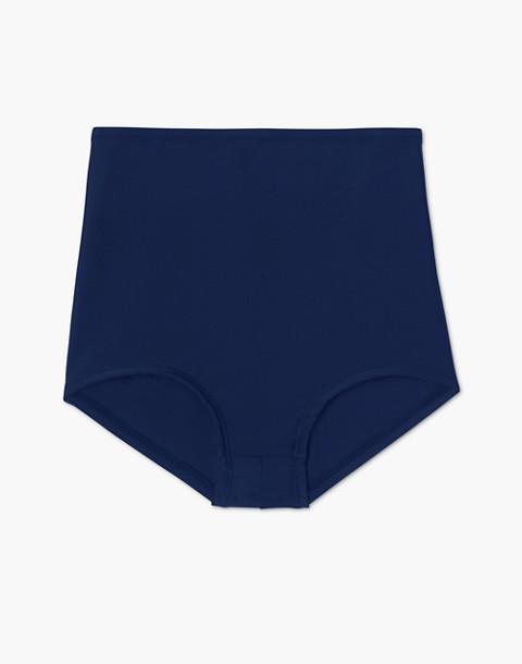 Summersalt® Classic High-Rise Bikini Bottom in blue image 1