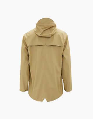 Unisex RAINS® Rain Jacket in Desert in brown image 2