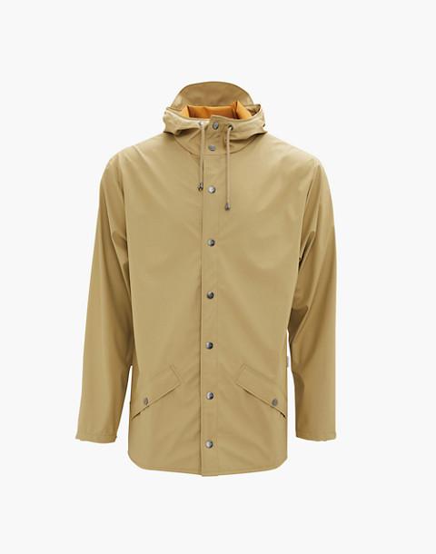 RAINS® Unisex Rain Jacket in Desert
