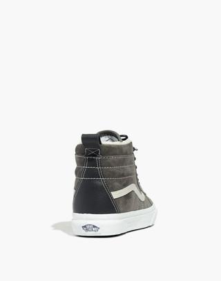Vans® Unisex Sk8-Hi MTE High-Top Sneakers in Suede in pewter asphalt image 3