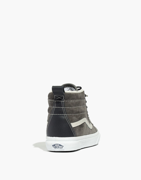 Vans® Unisex Sk8-Hi MTE High-Top Sneakers in Suede in pewter asphalt image 4