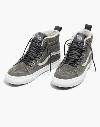 Vans® Unisex Sk8-Hi MTE High-Top Sneakers in Suede in pewter asphalt image 1