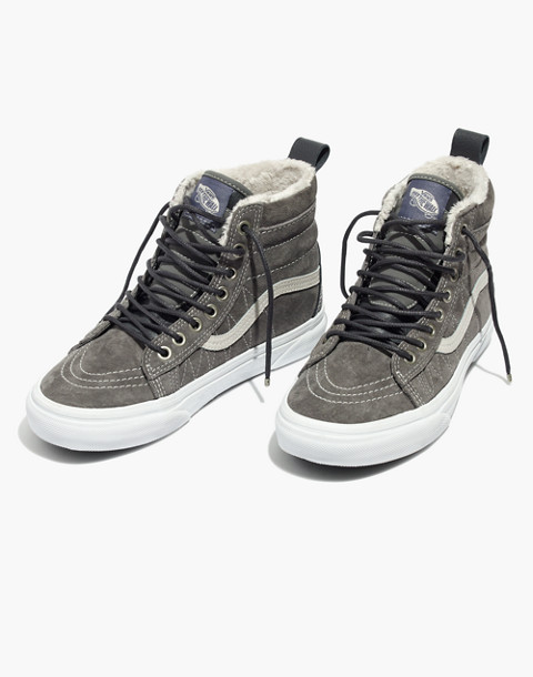 Vans® Sk8-Hi MTE High-Top Sneakers in Suede in pewter asphalt image 1