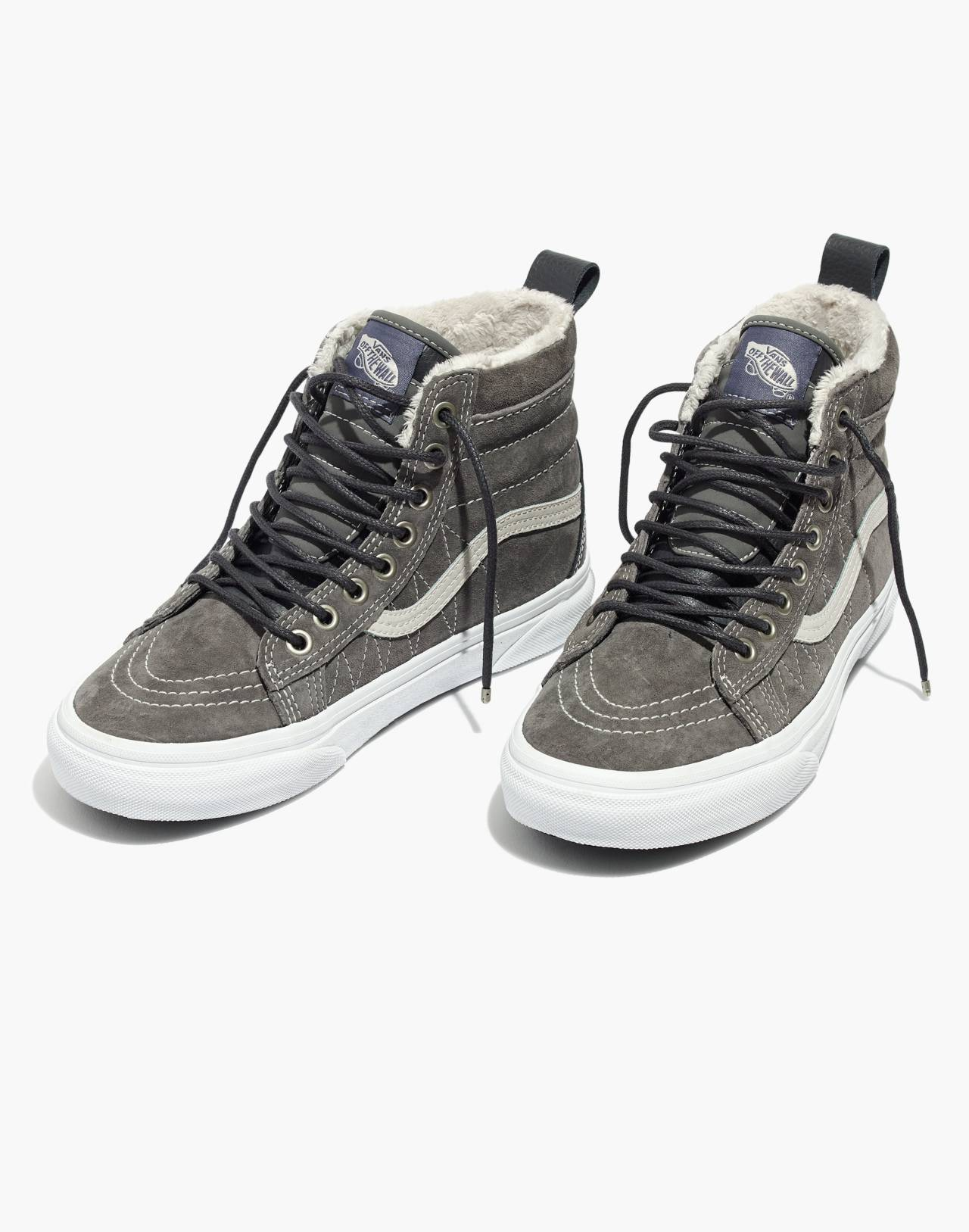 Vans® Unisex Sk8-Hi MTE High-Top Sneakers in Suede in pewter asphalt image 1