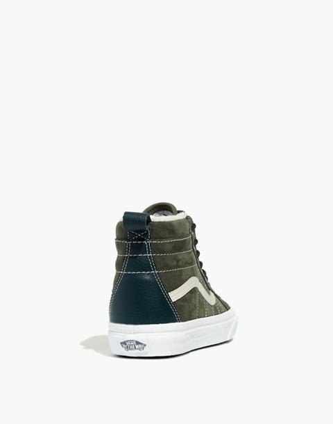 Vans® Unisex Sk8-Hi MTE High-Top Sneakers in Suede in dusty olive darkest spruce image 4