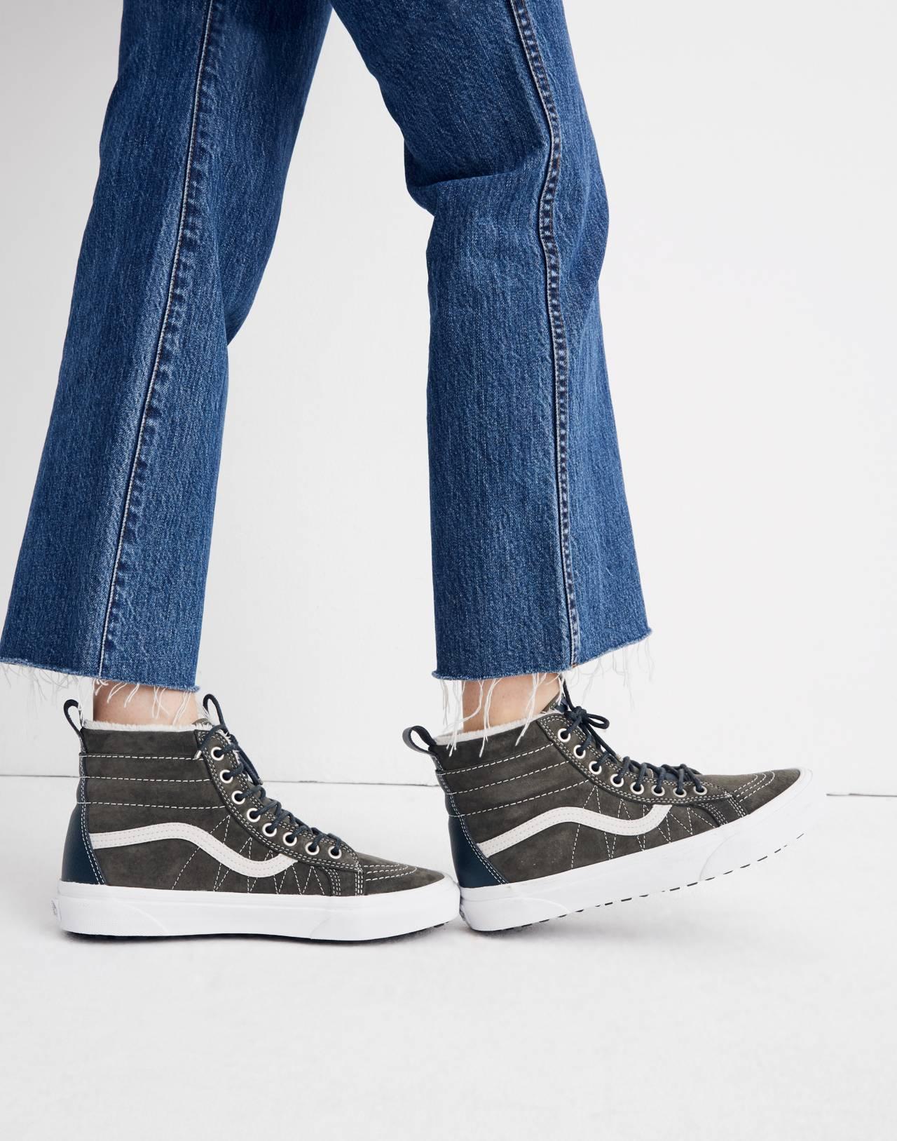 Vans® Unisex Sk8-Hi MTE High-Top Sneakers in Suede in dusty olive darkest spruce image 2
