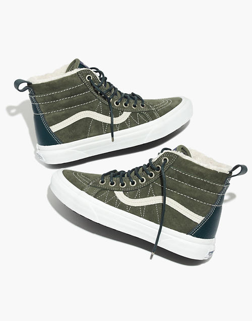 583804efd49ad3 Vans reg  Unisex Sk8-Hi MTE High-Top Sneakers in Suede in dusty olive