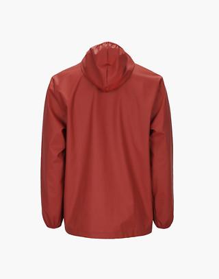 Unisex RAINS® Rain Jacket in red image 2