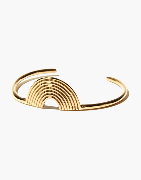 Odette New York® Aalto Cuff Bracelet in gold image 1