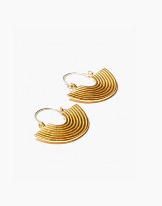 Odette New York® Aalto Earrings in gold image 2