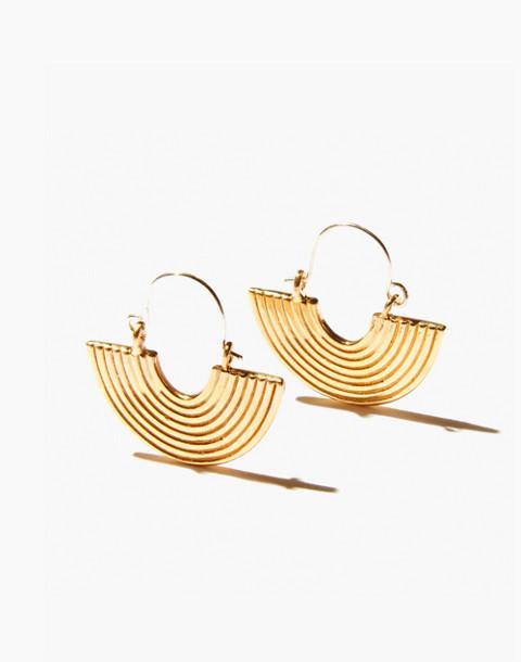 Odette New York® Aalto Earrings in gold image 3