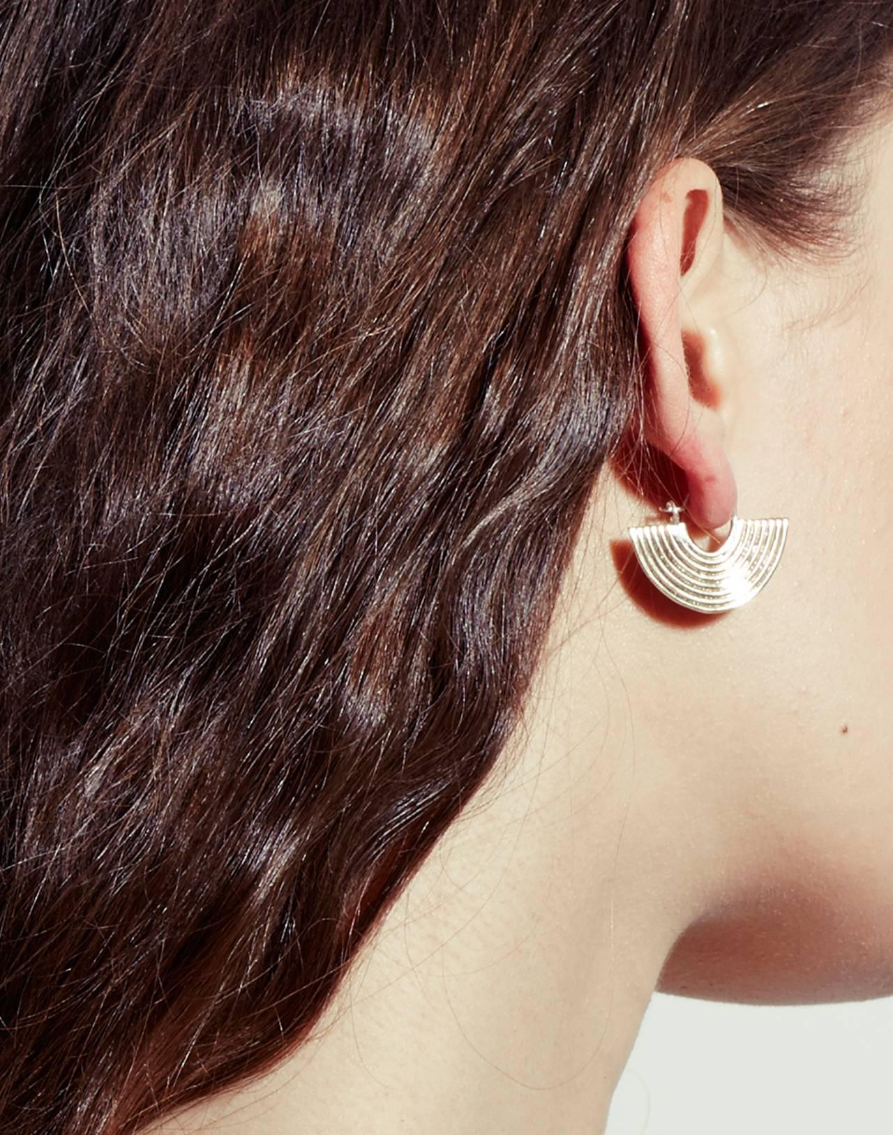 Odette New York® Aalto Earrings in gold image 4