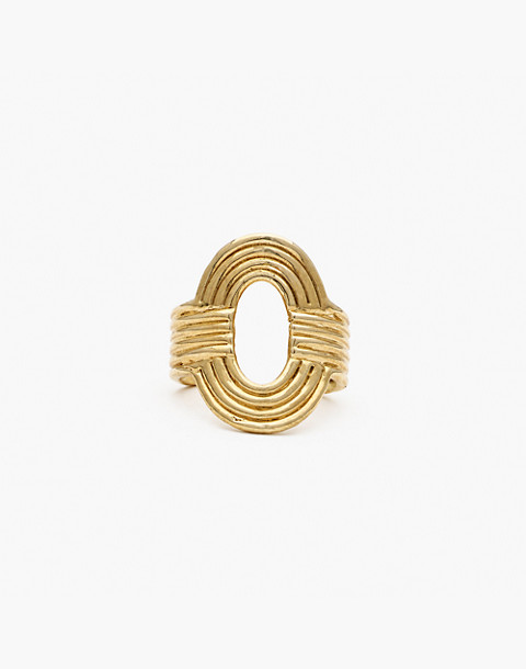Odette New York® Aalto Ring in gold image 2