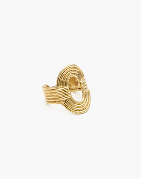 Odette New York® Aalto Ring in gold image 1