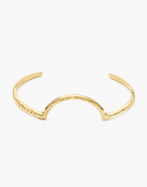 Odette New York® Arc Cuff Bracelet in gold image 1