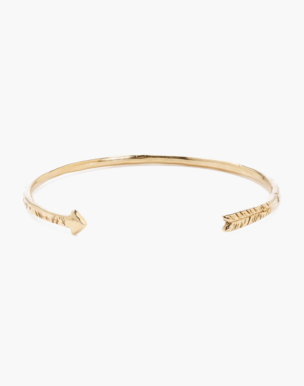 Odette New York® Arrow Cuff Bracelet in gold image 1