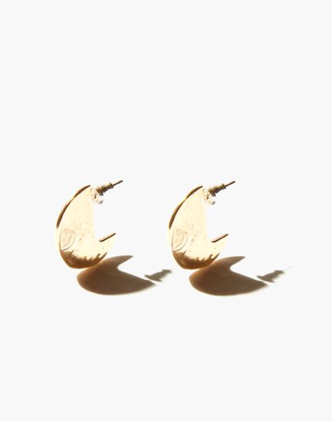 Odette New York® Disc Stud Earrings in gold image 2