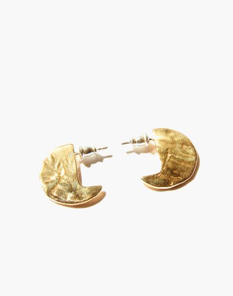 Odette New York® Disc Stud Earrings in gold image 1
