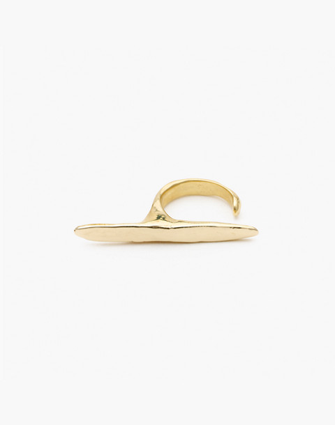 Odette New York® Ligne Ring in gold image 2