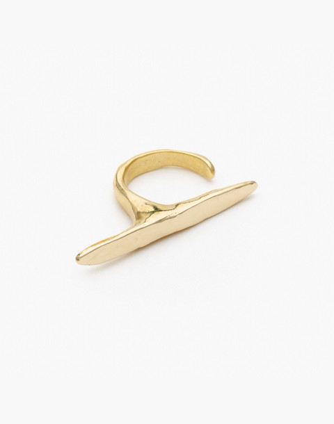 Odette New York® Ligne Ring in gold image 1