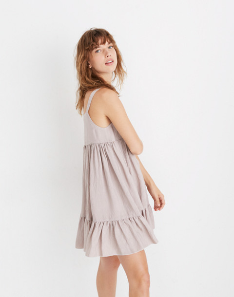 Karen Walker® Sanctuary Tiered Dress in mauve image 2