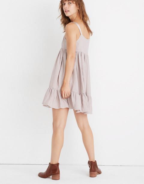 Karen Walker® Sanctuary Tiered Dress in mauve image 3
