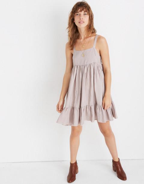 Karen Walker® Sanctuary Tiered Dress in mauve image 1