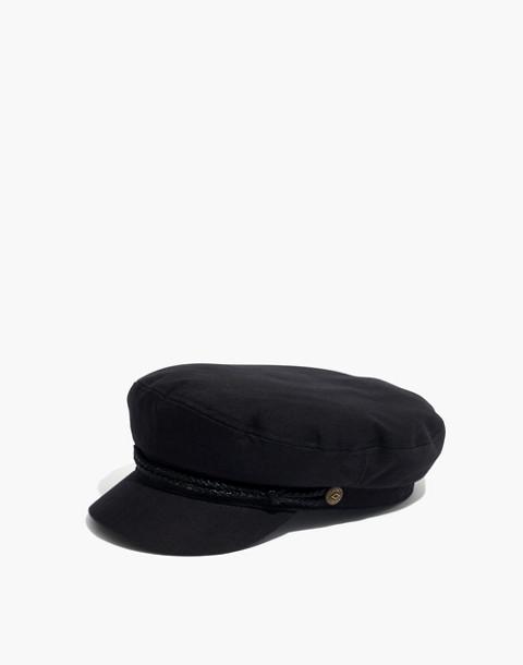 Brixton reg  Fiddler Cap in black ... 0b494fc03a48