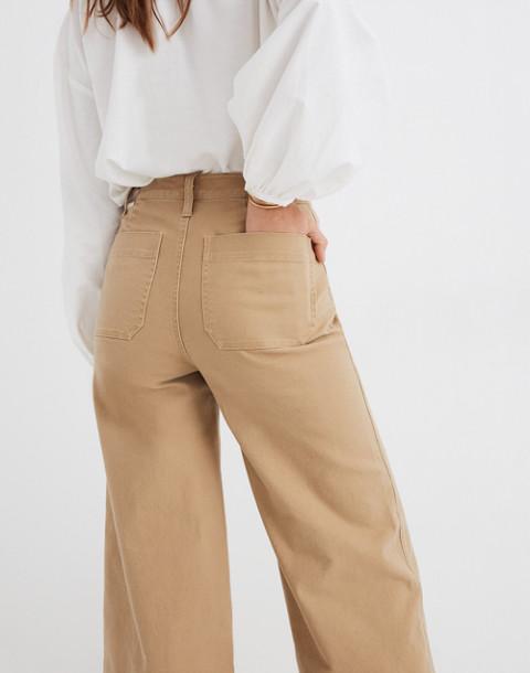 Petite Emmett Wide-Leg Pants in autumn meadow image 3