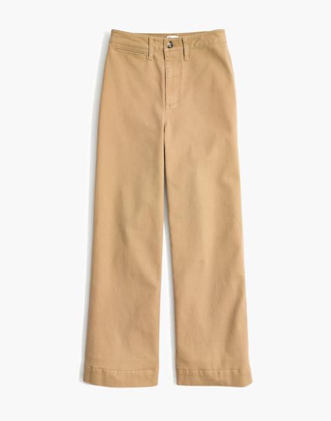 Petite Emmett Wide-Leg Pants in autumn meadow image 4
