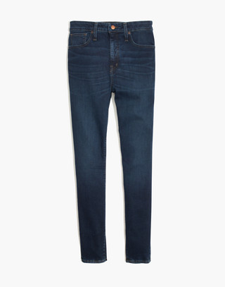 Petite Curvy High-Rise Skinny Jeans in Hayes Wash in hayes wash image 4