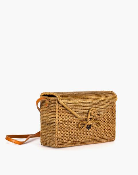 Bembien® Sofia Rattan Shoulder Bag