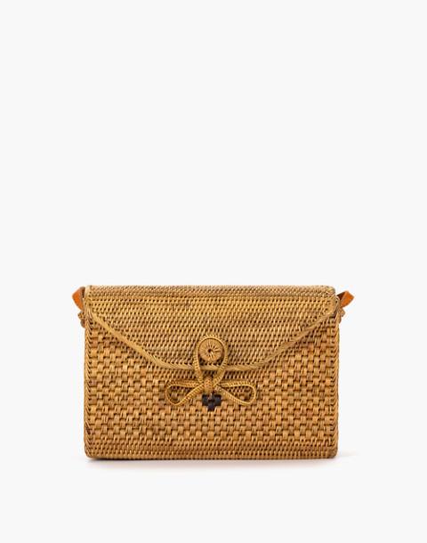 Bembien® Sofia Rattan Shoulder Bag in natural image 1